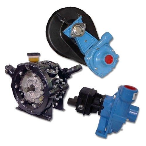 Choice of diaphragm or centrifugal pumps