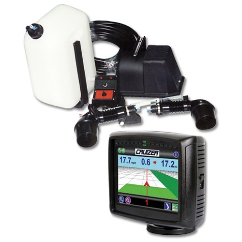 GPS guiding system or foam marker