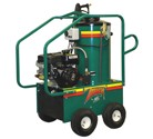 Thunder series gas-powered pressure washers come with a well-designed cage frame that protects all mechanical components while providing ready access for maintenance.